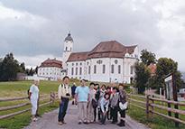 ドイツ バイエルン州 ヴィース教会にて
